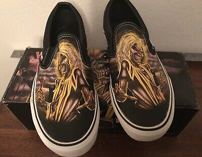 Vans Iron Maiden Killers Shoes Sneakers Rare Box And Printed KILLERS paper 🔥