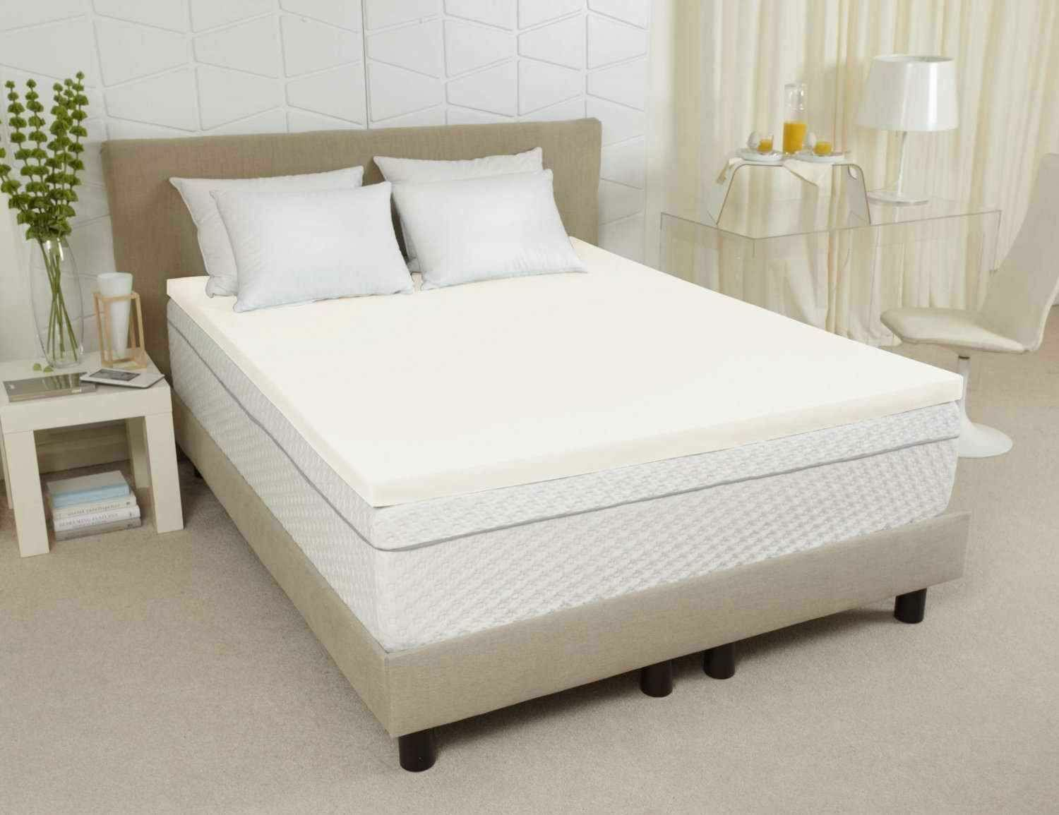 how to pick a memory foam mattress topper ebay. Black Bedroom Furniture Sets. Home Design Ideas