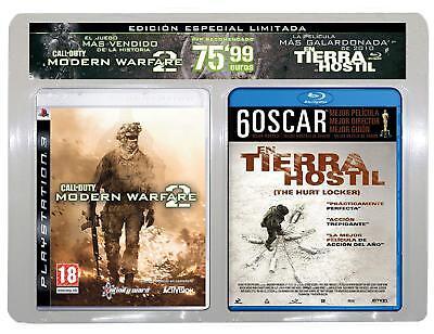 PS3-Call Of Duty-Modern Warfare 2 + EN TIERRA HOSTIL-New Bluray-PAL ESPAÑA NUEVO