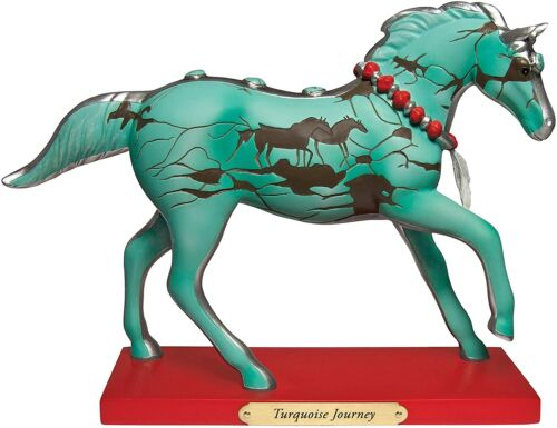 Trail of Painted Ponies Turquoise Journey Horse New in Box 4053784 Retired Rare