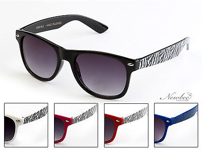 Kids Sunglasses Classic Retro Zebra Print Design Boys Girls Fun Size Kids (Sunglasses Kids 2018)