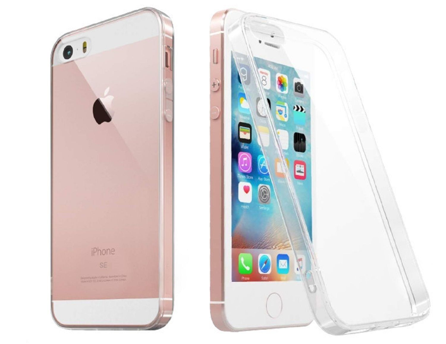For iPhone SE 2016 Case Clear Rubber Shockproof Protective iPhone 5 Cover Cases, Covers & Skins