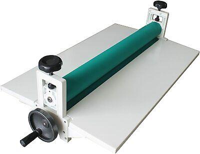 Us New All Metal 29.5 Manual Cold Roll Laminator Mount Laminating Machine 750mm