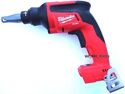 New Milwaukee Fuel 2866-20 M18 Cordless Drywall Screw Gun Drill Brushless Volt