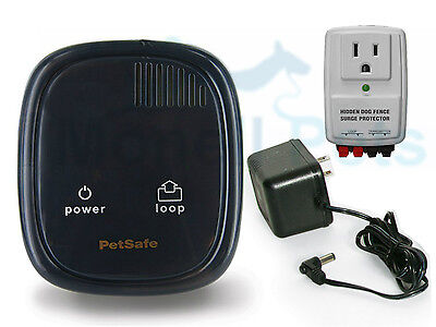 PetSafe In-Ground Dog Fence Transmitter 25 ACRE with Panamax Lightning Protector