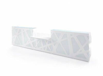Zig-zag 213 Reception Desk With Counter Top