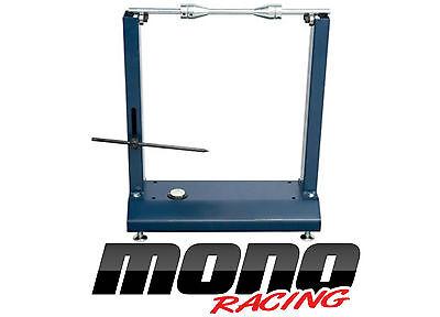 Motorcycle Static Wheel Balancer Tyre Rim Truing Stand Dunlop Michelin Pirelli