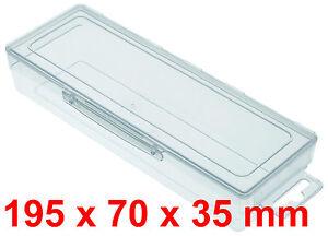 kunststoffbox transparent boxen ebay. Black Bedroom Furniture Sets. Home Design Ideas