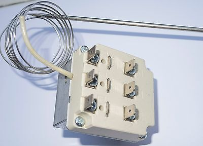 Three Pole Fryer Thermostat 120-440fahrenheit 50-230c Universal Control