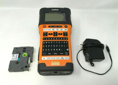 Brother PT-E500 Industrial Handheld Labeling Tool w/ Carrying Case