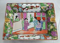 N°3285s Bellissimo Portacenere Posacenere Ashtray Cinese In Porcellana Canton -  - ebay.it
