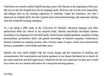 English Tutoring/Coaching/IELTS OET Preparation/Training