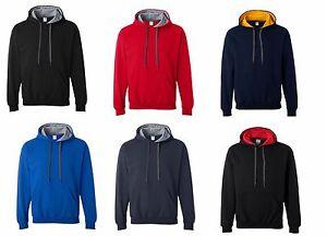 GILDAN-NEW-Mens-Size-S-XL-Heavy-Blend-Hooded-Sweatshirt-Hoodie-Jumper-Top-185C00