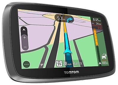 "TomTom GO 600 TRUCKER Portable 6"" GPS Lifetime Truck Maps + Traffic USA/CANADA B"