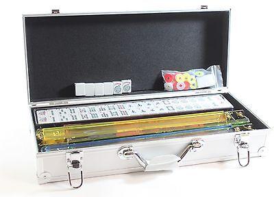 Brand New American Mahjong Set In ALUMINUM Case Western Mahjongg Mah Jong Jongg