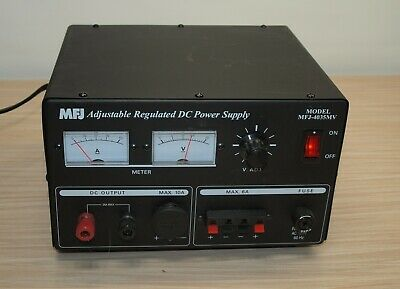 Mfj Adjustable Regulated Dc Power Supply Model Mfj-4035mv