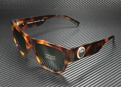 VERSACE VE4359 521771 Havana Green 55 mm Men's Sunglasses