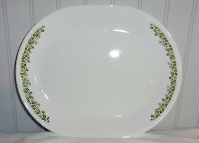 Corelle Crazy Daisy/Spring Blossom oval serving platter 12 1/4