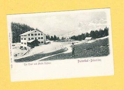 um 1905  Pusterthal DOLOMITEN Tre Coci - Stengel & Co. 2755