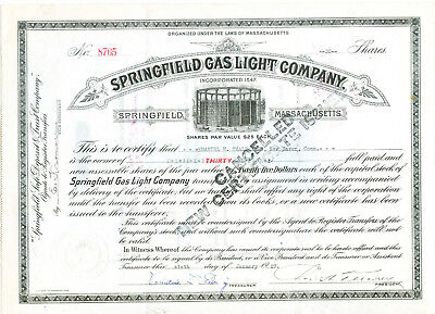 Springfield Gas Light 1925