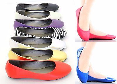Soft Ballerina (Women New Ballerina Ballet Flat Sexy Comfort Soft Slip On Dance Shoes Sz 6-11 )
