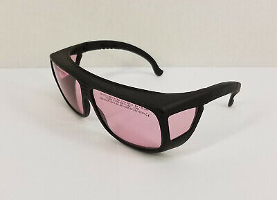 Thorlabs Lg5 Laser Safety Glasses Pink 61 Visible Light Transmission