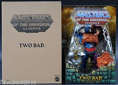 2014 Mattel Two-Bad MOTU MOTUC Masters of the Universe Classics MOC