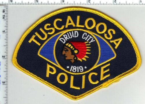 Tuscaloosa Police (Alabama) Shoulder Patch - new from the 1980