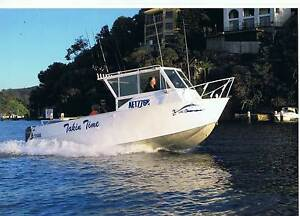 Aluminium Alufarm open water fishing diving boat 7.8m Warrawee Ku-ring-gai Area Preview