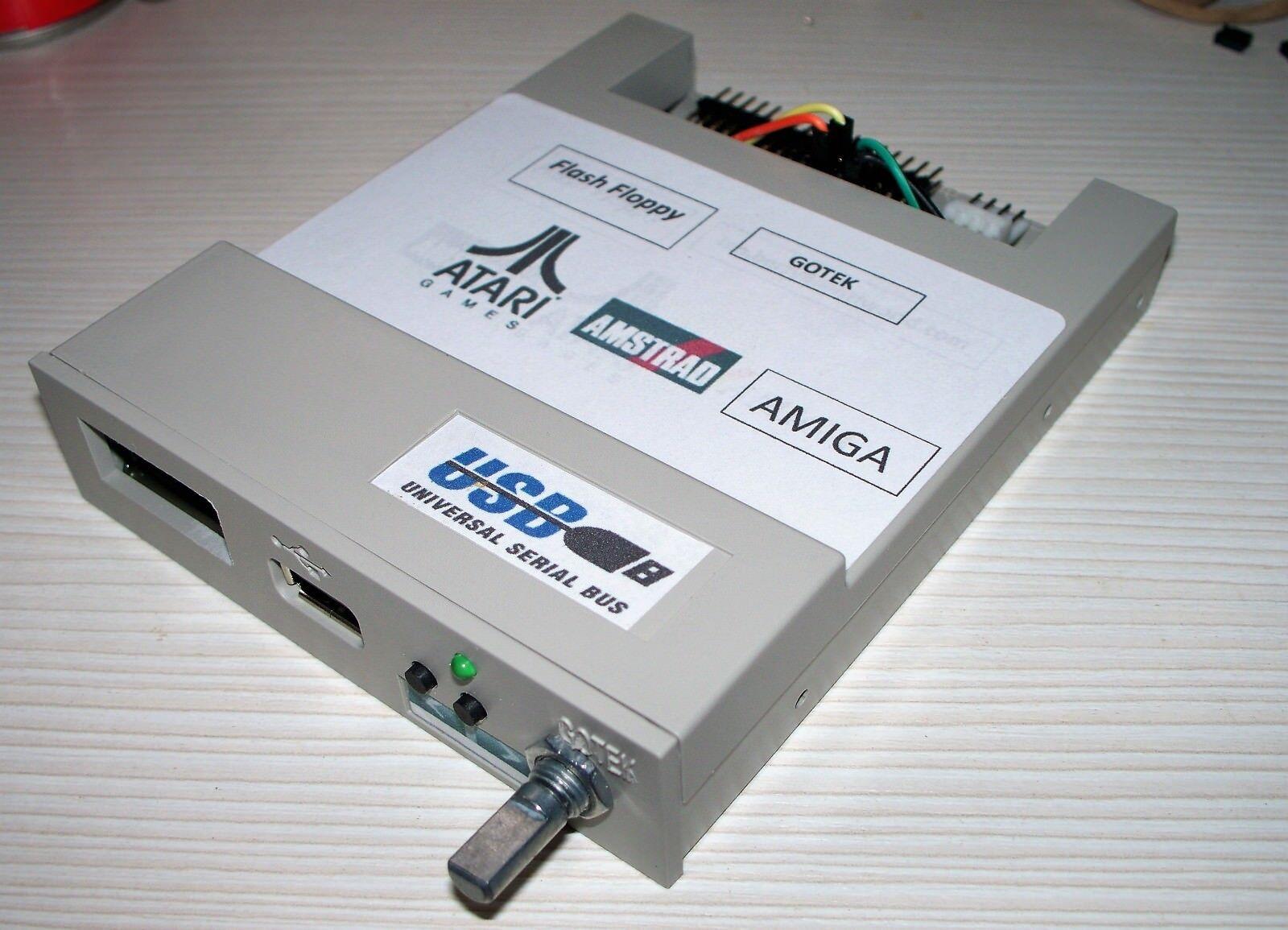Amiga/Atari ST/Amstrad CPC/GOTEK FLASH FLOPPY OLed DISPLAY Rotary