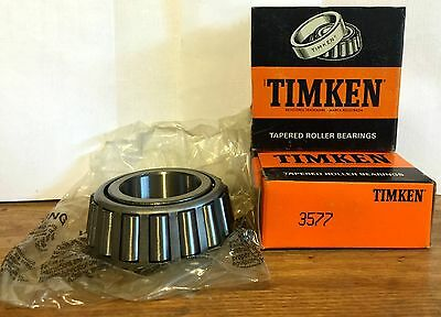 NEW VINTAGE NOS TIMKEN 3577 TAPERED ROLLER BEARING MADE IN USA RACING 1932 FORD