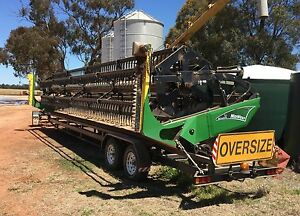 30ft Midwest Windrower front and Trailer Narrandera Narrandera Area Preview