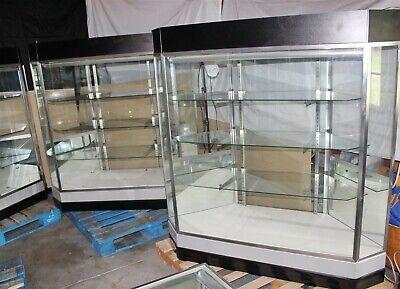 62.5 X 22 X 59 Jewelry Showcase Retail Display Case 3 Shelves- Pickup