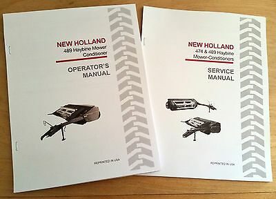 New Holland 489 Haybine Mower Conditioner Operators And Servicerepair Manual