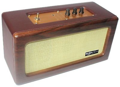 Bush Brown Classic Retro Wireless Bluetooth Speaker - SG-1532