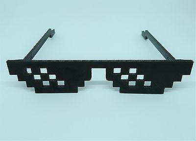 Thug Life - Deal With It - 8 Bit - Meme Sonnenbrille sunglasses - in drei Größen