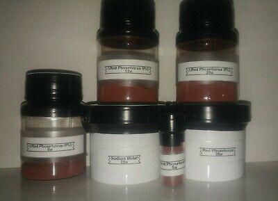 Amorphous Phosphorus , 25 grams, for element collections