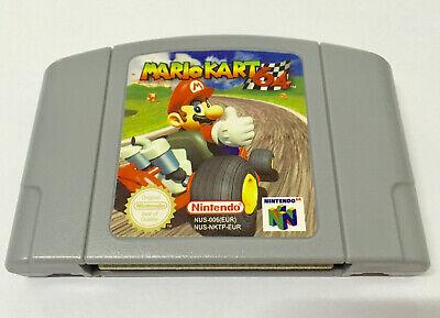 Mario Kart 64 Game Cartridge PAL EUR Version For Nintendo N64  comprar usado  Enviando para Brazil