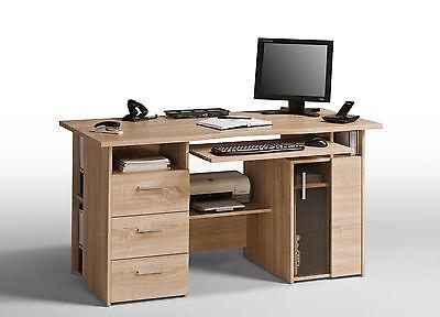 Computertisch Schreibtisch Bürotisch Mod.MJ016_SE Sonoma Eiche