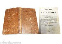 Canoni Di Metafisica Della Scienza Delle Leggi Penali , Luigi Zuppetta 1848 - canon - ebay.it
