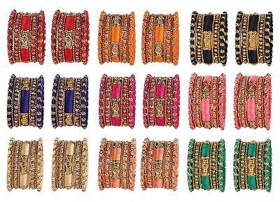 Indian Bollywood Costume Wedding Wear Style Bracelet Bangles Set Fashion Jewelry Bracelet Costume Fashion Jewelry