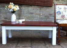 Shabby Chic French Country Coffee Side Display Table Bexley Rockdale Area Preview