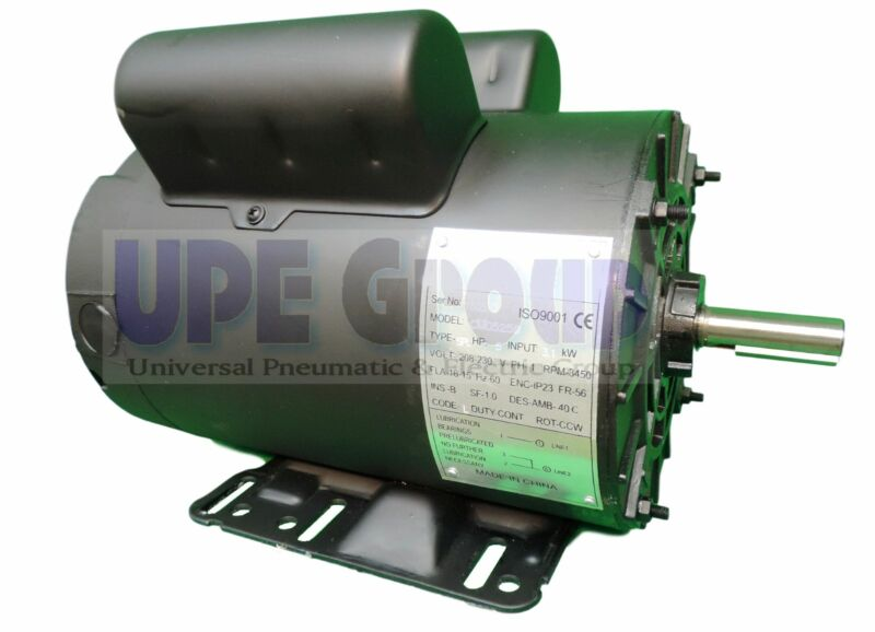 REPLACEMENT FOR CENTURY B813 WEG 5 HP 56HZ 3450 ELECTRIC MOTOR FOR COMPRESSOR