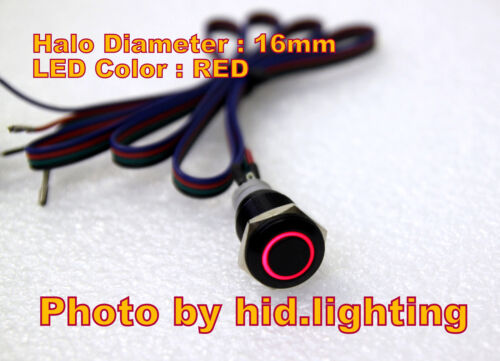 BMW E60 Sport mode unlock cable wire pins RED LED Button 16mm 5 series wiring