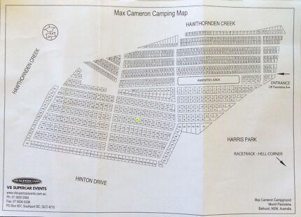 Bathurst 1000 campsite