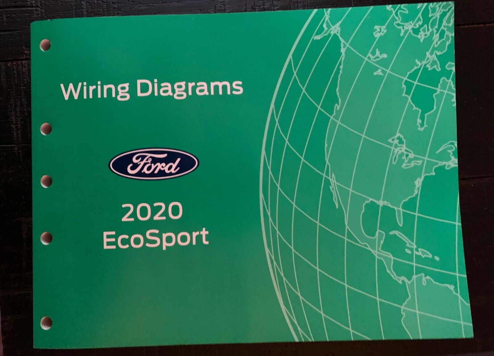 2020 Ford Ecosport Electrical Wiring Diagram Service Manual Fcs-21514-20