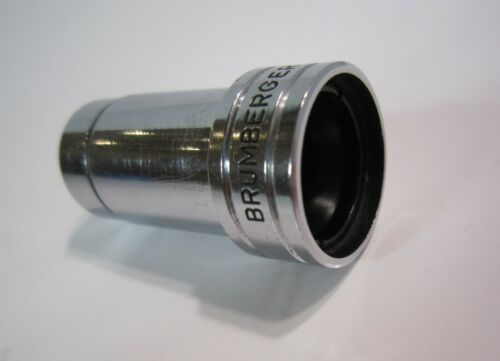 "Vintage BRUMBERGER 1503 8mm Projector Lens 3/4"", f/1.6, Made in Japan"