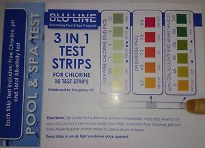 Swimming Pool Test Strips Ebay