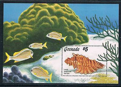 Grenada 1986 Sea Shells SG MS1520 MNH