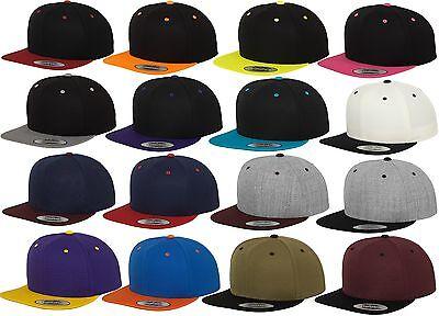 2-tone Baseball Cap (YUPOONG FLEXFIT ® ORIGINAL BASEBALL CAP SNAPBACK New Full Kappe 2-Tone Era Blank)